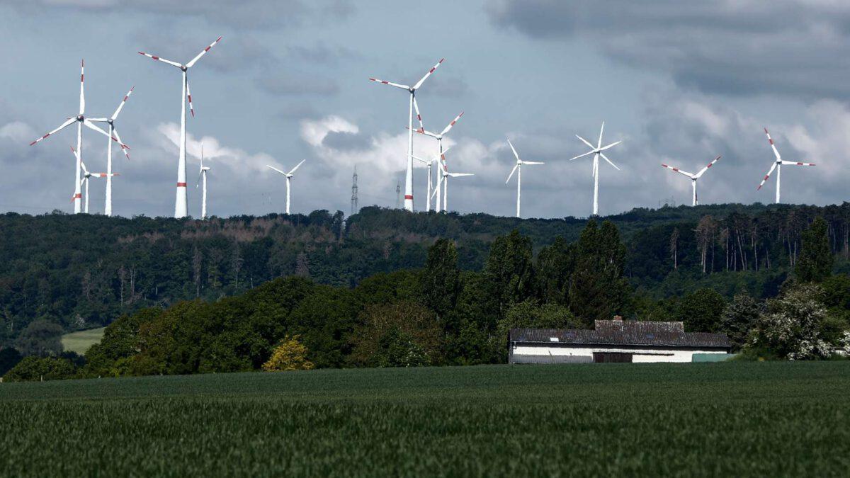 Windkraftanlagen bei Langethal