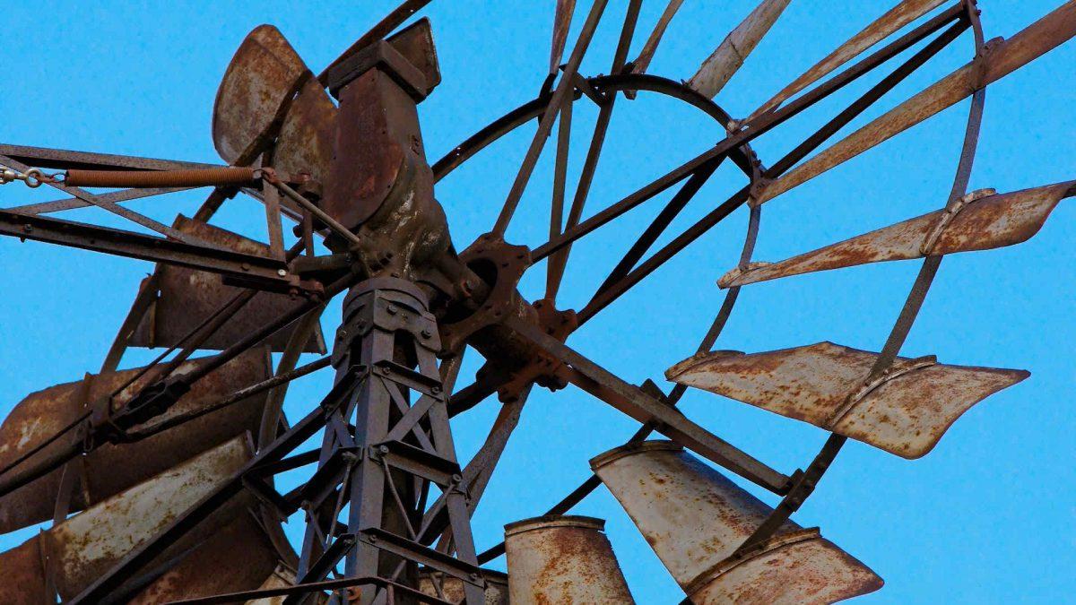 windpark im standgas
