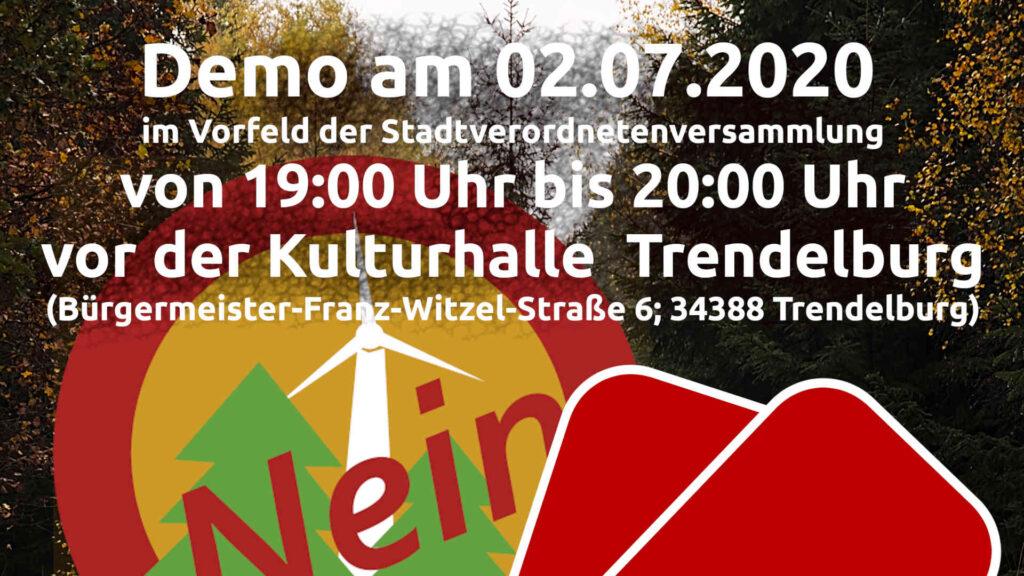 Rote Karte Demo Veranstaltungshinweis Beitragsbild