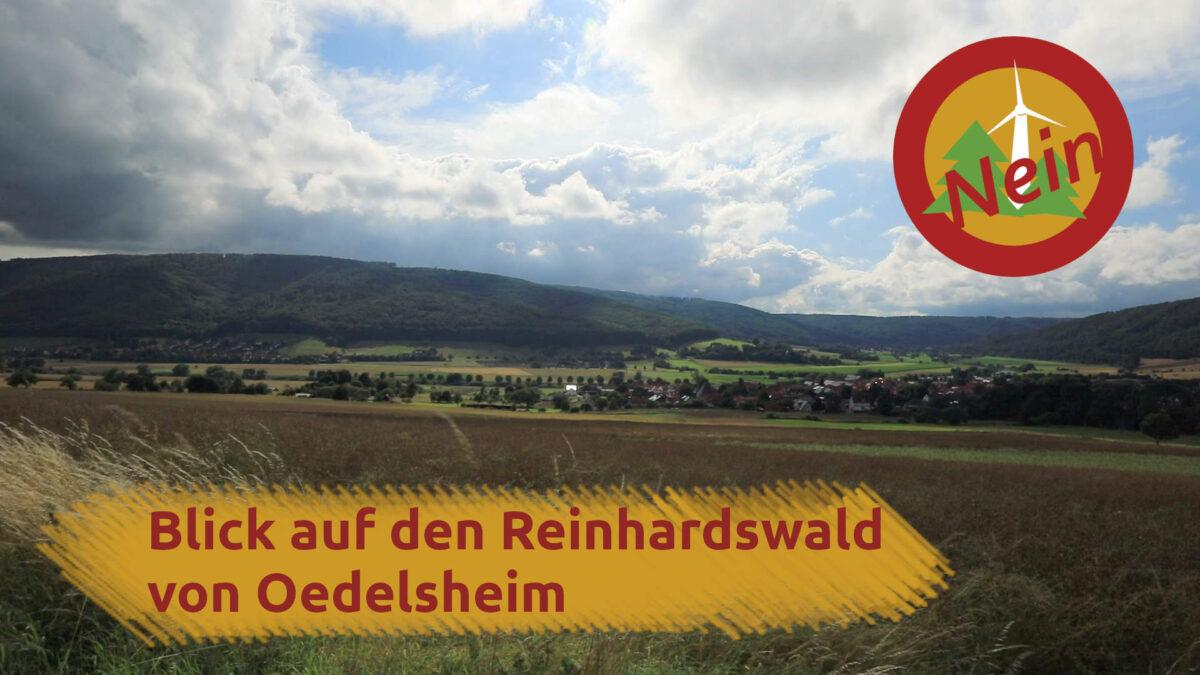 Beitragsbild Blick auf den Reinhardswald von Oedelsheim