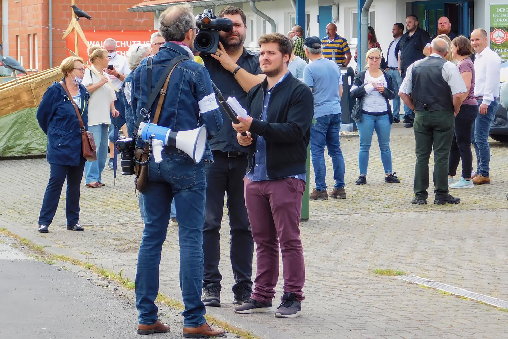 Karsten Leineke im Interview mit Presse RTL