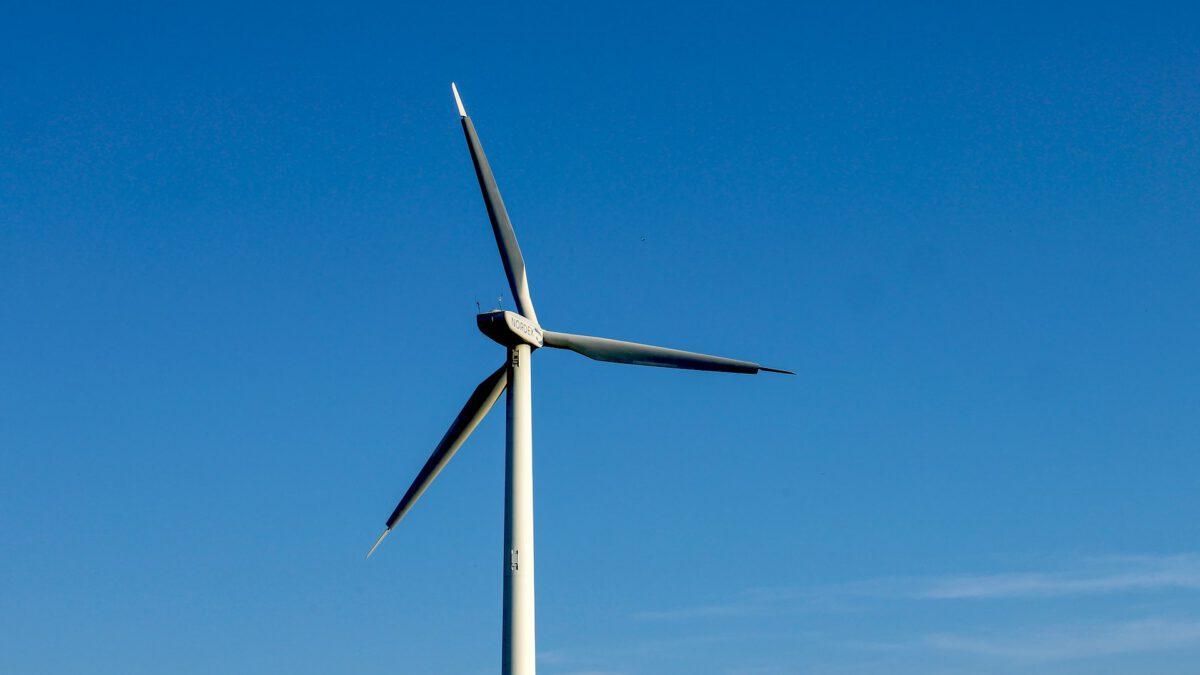 Windkraftanlage in Nordhessen
