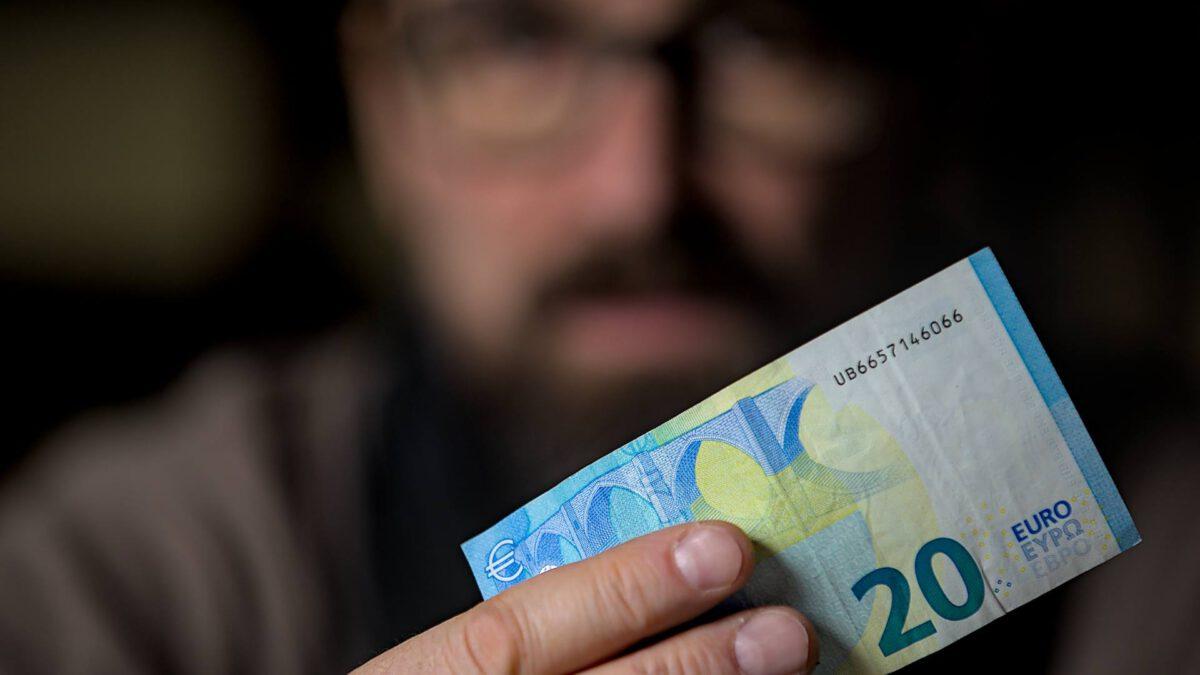 Spenden 20 Euro Geldschein